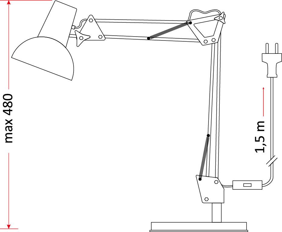 Lampka biurkowa OMEGA